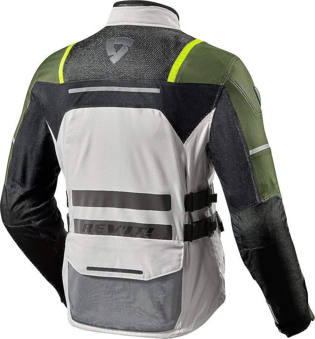 Veste de Moto avec Protections Veste de Moto Offtrack Veste Textile REVIT Enduro//Adventure Hommes Toute lann/ée