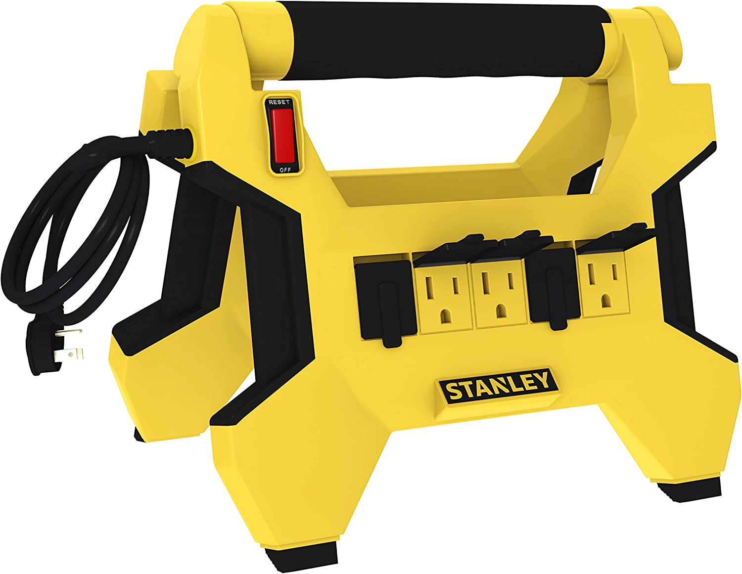 Stanley 32040 Power Horse Grounded 8- Outlet Upright Power Center