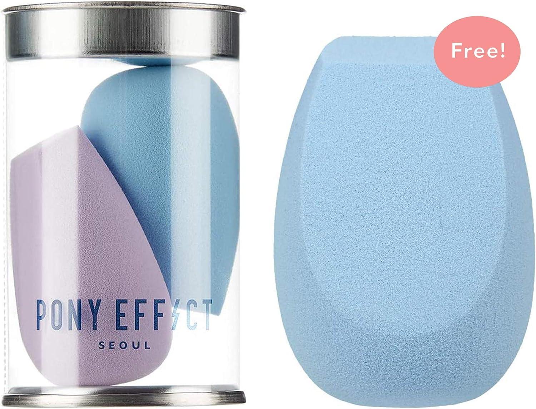 PONY EFFECT Pebble Blender #Powder Blue + Mini Pebble Blender Bundle