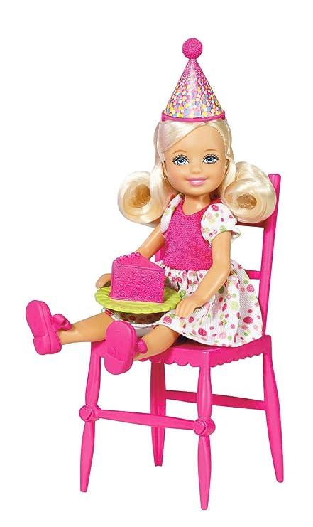 Amazon.es: Barbie W3210 - Chelsea Feliz Cumpleaños (Mattel ...