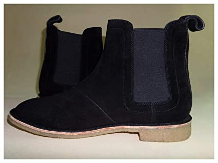 937db736be865 Image Unavailable. Image not available for. Color  Tebapi Mens Backpacking  Boots Vintage Men Men s Chelsea Boots Leather Khaki Grey Brown Black Dark  Blue