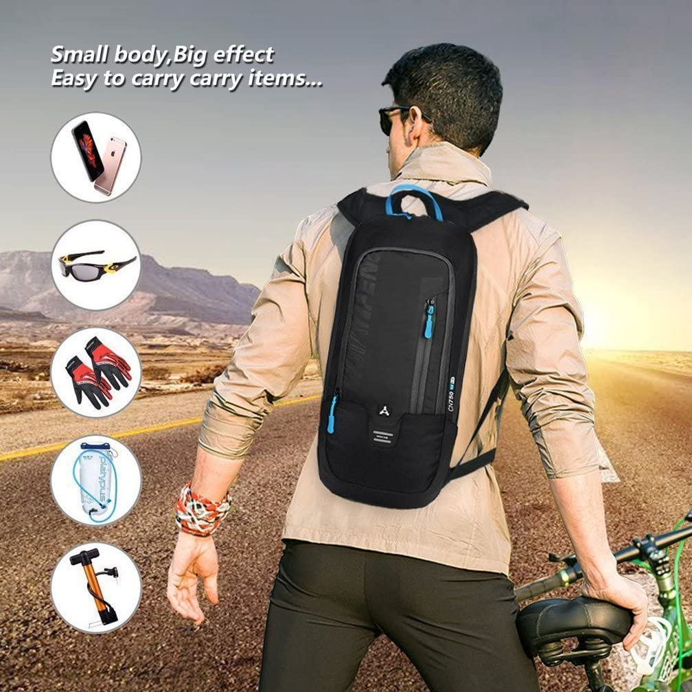 Cycling Bag Ultralight Portable Waterproof Bicycle Backpack 10L Hiking Climbing