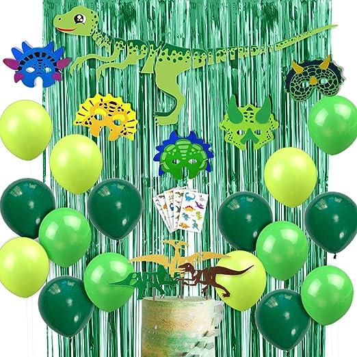 Decoraciones de dinosaurios para fiesta de cumpleaños para ...