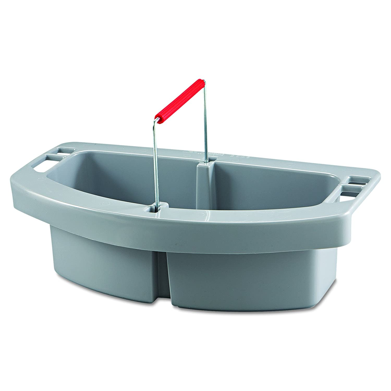 Amazon.com: Rubbermaid Commercial RCP 2649 GRA Maid Caddy, 2-Comp ...