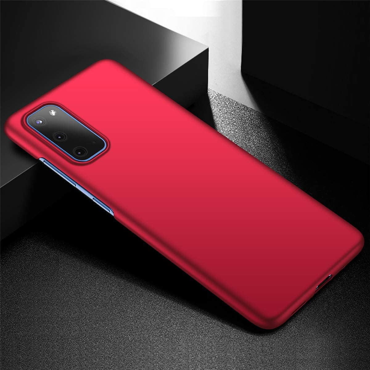 Dqtaoply Funda para Galaxy S20 Galaxy S20, Azul Ultra Delgado PC Dura Carcasa Mate Plastico Fina y Ligera Bumper Protectora Caso para Galaxy S20