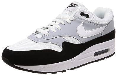 Nike Schuhe – Air Max 1 Grau Weiß Schwarz Größe  40.5 500dfdcdc9