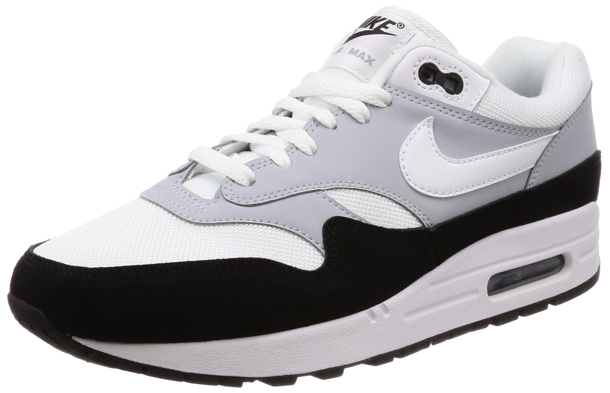 Nike Air Max 1 wolf greyblackwhite (men) (AH8145 003