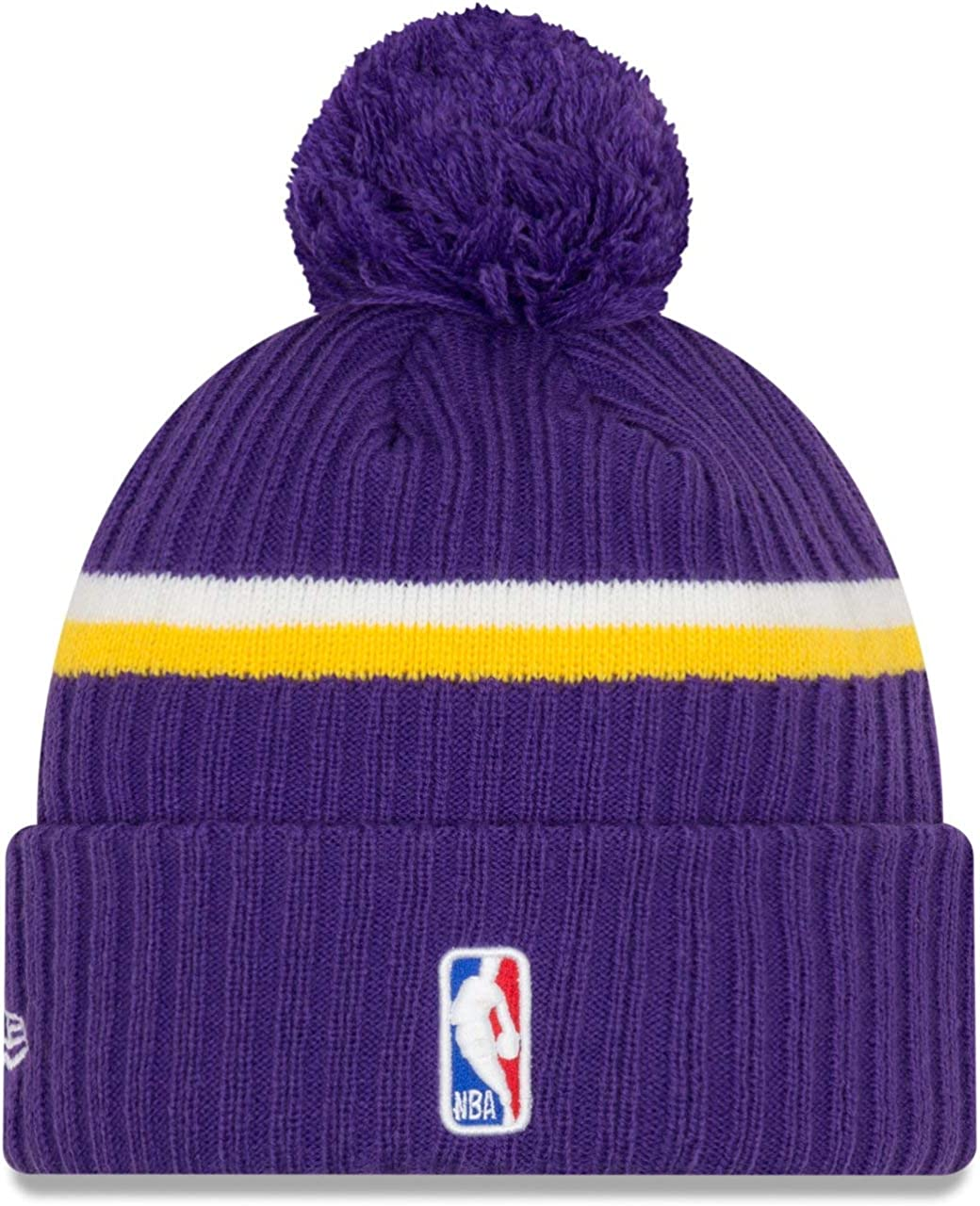 A NEW ERA Gorro con pompón de Punto Cable NBA Draft OTC L.A. ...