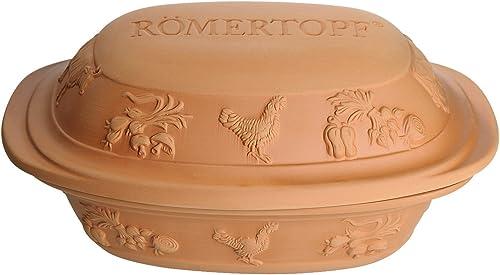 Romertopf Rustico Series Clay Roaster Reston Lloyd