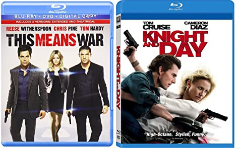 amazon com knight and day this means war blu ray fun action