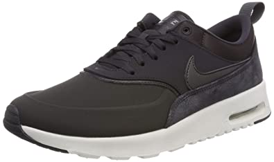sale retailer 35291 a4e0e Nike WMNS Air Max Thea PRM, Chaussures de Fitness Femme, Multicolore Oil  Grey