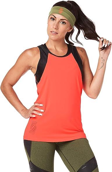 XL Wear It Out White 1 Zumba Burnout Dance Workout Gym Tank Graphic Print Fitness Workout Tops Women