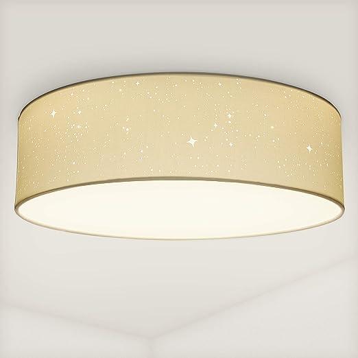 DEL Lumière du jour Plafonnier Lampe ciel étoilé effet Chambre Luminaire Blanc