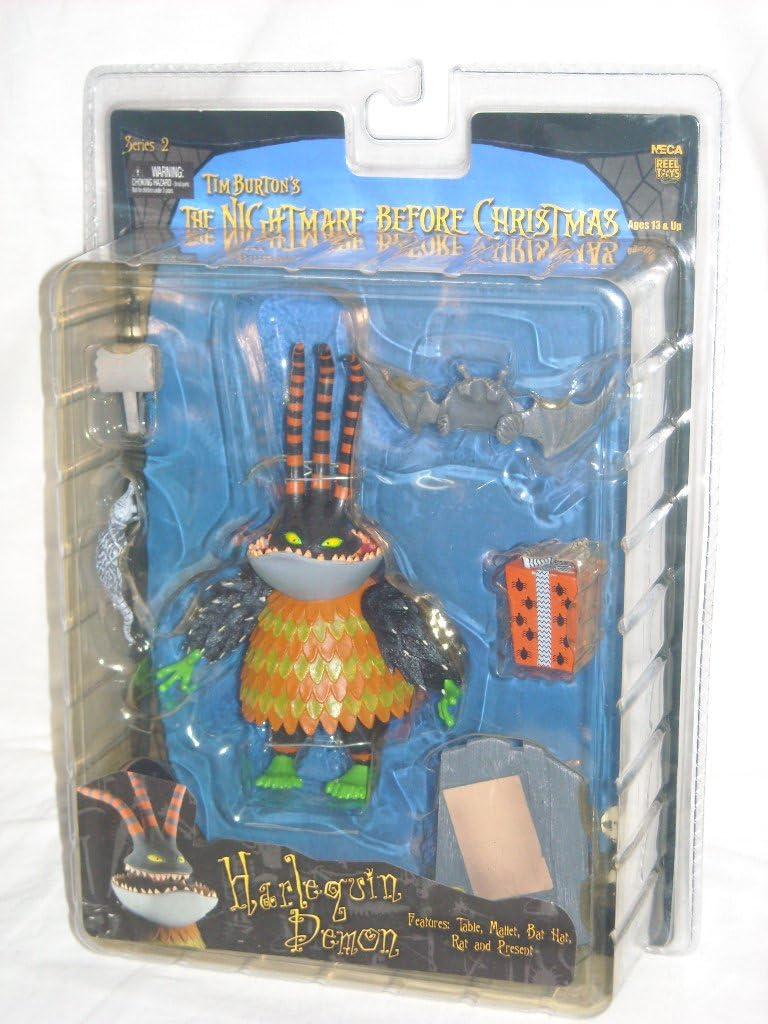 B000AM03X2 NECA Tim Burtons The Nightmare Before Christmas Series 2 Action Figure Harlequin Demon 71CE5PRurYL.SL1024_