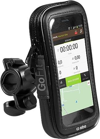 SBS TEBIKEHOLDERXLK Bicicleta - Soporte (Teléfono móvil/Smartphone, Bicicleta, Soporte pasivo, Negro, Samsung Galaxy S5, 360°): Amazon.es: Electrónica