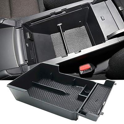JOJOMARK for 2020 2020 Mazda 3 Accessories Center Console Organizer Tray, Armrest Secondary Storage Box: Automotive
