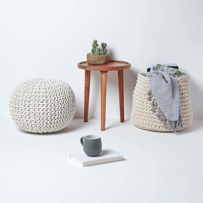 Homescapes taburete con asiento en forma de cubo de colour ...