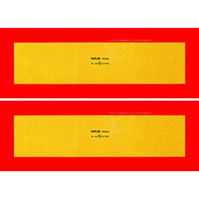 Cora 001890188 Set of 2 Certified Retroreflective Panels for Trailers: Automotive