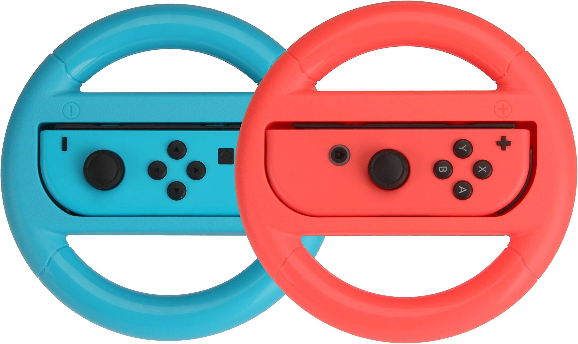 c761a44fce3 Amazon.com: AmazonBasics Steering Wheel Controller for Nintendo ...
