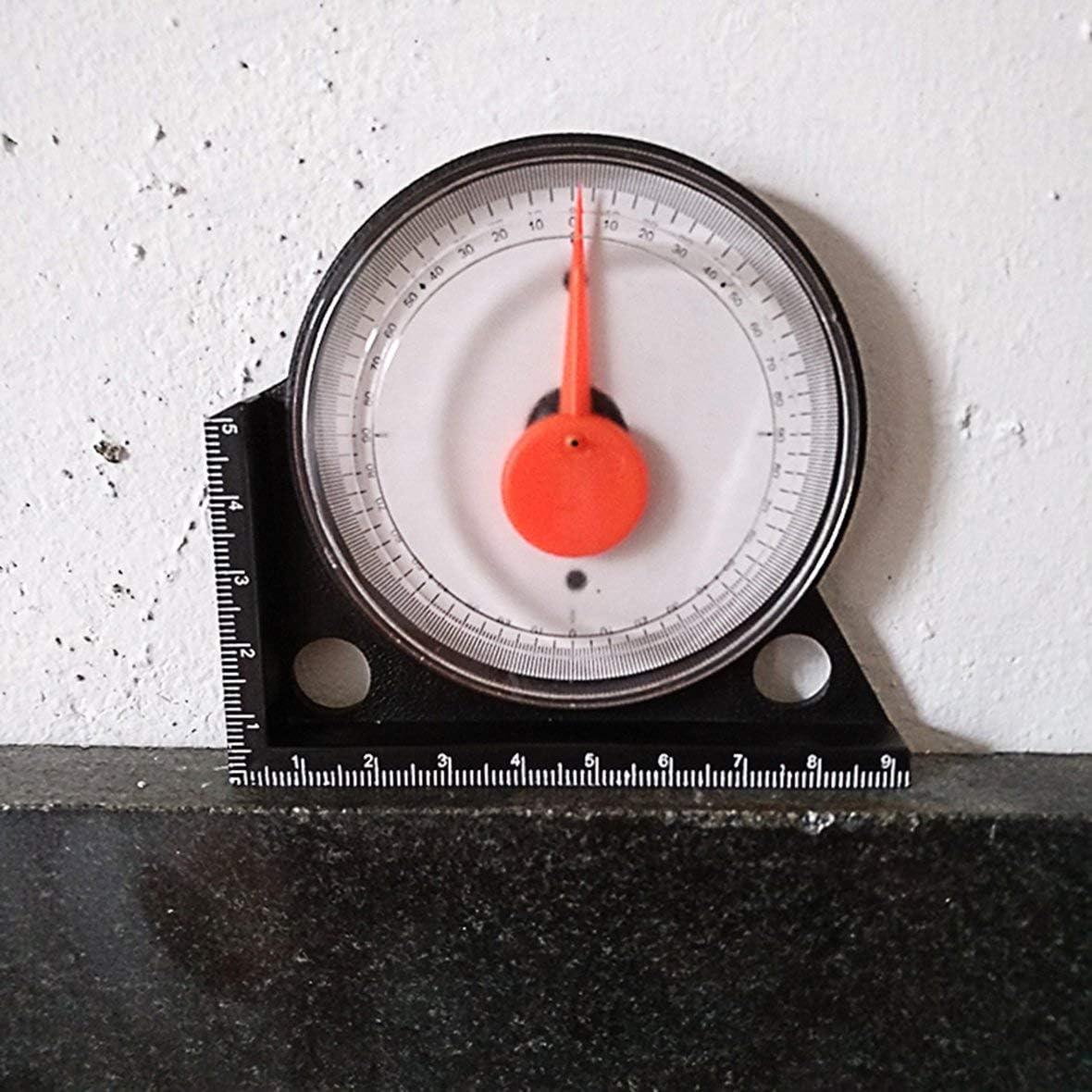 Monllack Hochpr/äzises Neigungsmesser-Winkelmessger/ät-Clinometer-Messger/ät mit magnetischem Basis-Neigungsmessger/ät