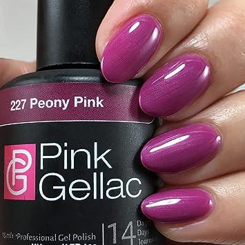 Goede Amazon.com : Pink Gellac UV Nail Polish 227 Peony Pink KL-75
