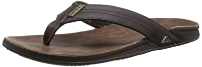 Reef J-Bay Iii - Flip-flop - Homme - Marron (Dark Brown Dab) - 47 EU ... 44896b6e3ee7