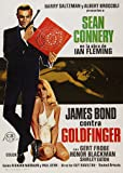 James Bond 007 Goldfinger Foreign Movie Film A3 Poster / Print / Picture 280GSM Satin Photo Paper