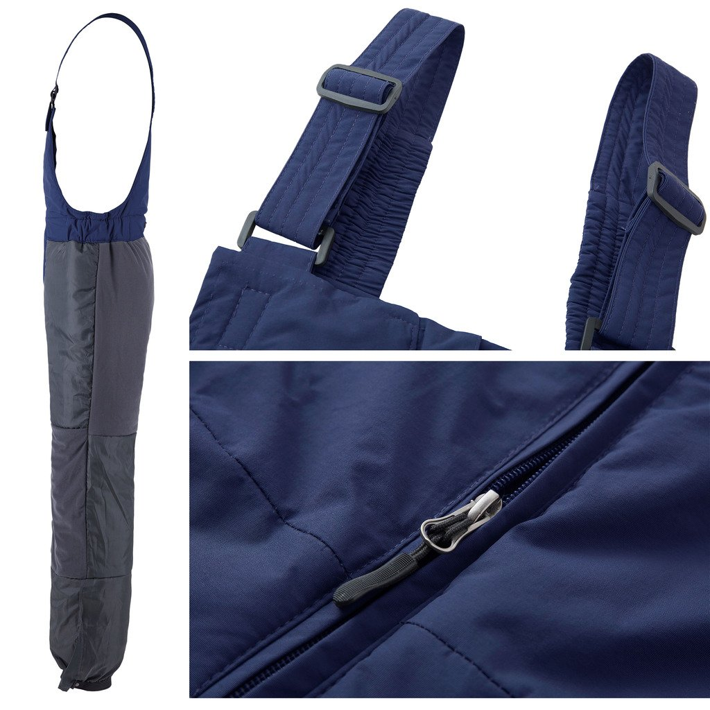 ... Wantdo Mens Warm Ski Pants Waterproof Snow Bib Pants Insulated Winter  Overall ... 2ac08e200