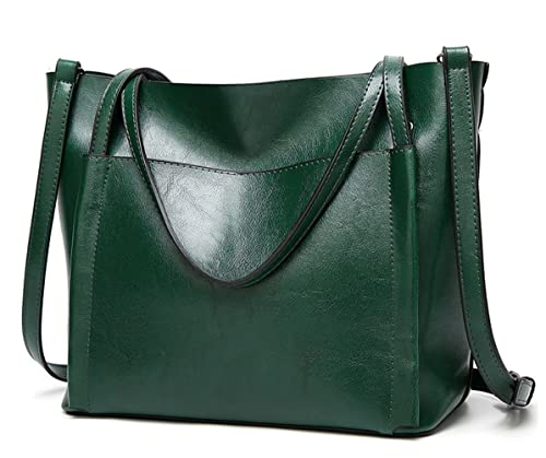 Tibes Large Capacity Shoulder Bag Women Purses and Handbags Green ... 86d937996a3f8