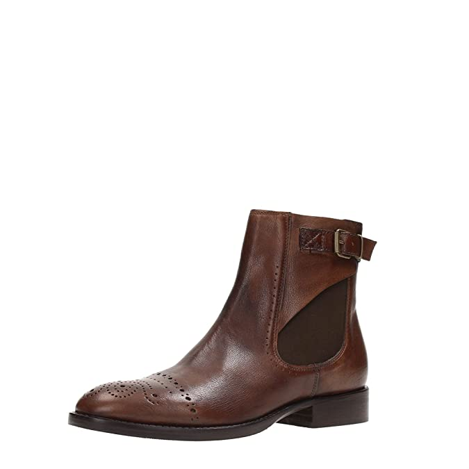 0db308375a92a 38 EU Chaussures Ecco noires Casual femme Docksteps DSE102767 Desert Boot  Femme Cuir Brun 36 jHVmfsB