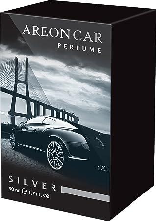 Areon Car Perfume Air Freshener Silver 50ml Amazon Co Uk Car