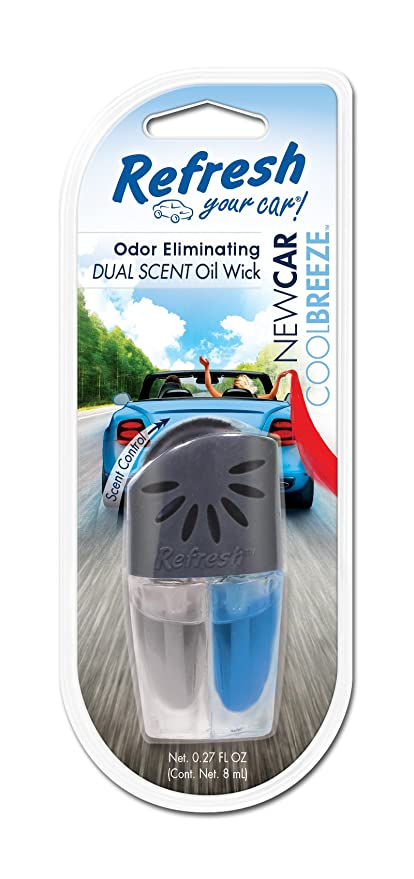 75035c74a22 Image Unavailable. Image not available for. Color  Refresh Your Car!  E300877301 Dual Scented Oil Wick