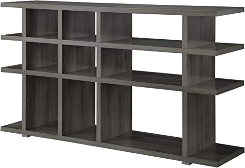 Coaster Home Furnishings 3-Tier Bookcase Weathered Grey