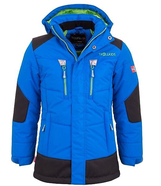 größter Rabatt gutes Angebot am besten verkaufen Trollkids Kinder gefütterter wasserdichter Winter-Parka, Ski- und  Schneejacke Narvik