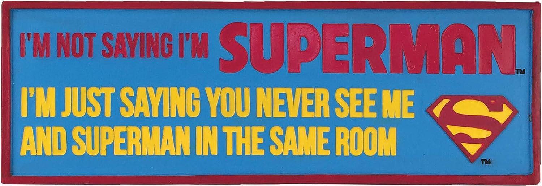 Spoontiques Superman Desk Sign