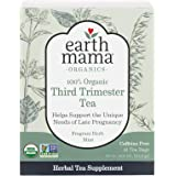 Earth Mama Organic Third Trimester Tea Bags for Pregnancy Comfort and Childbirth Preparation, 16 Count