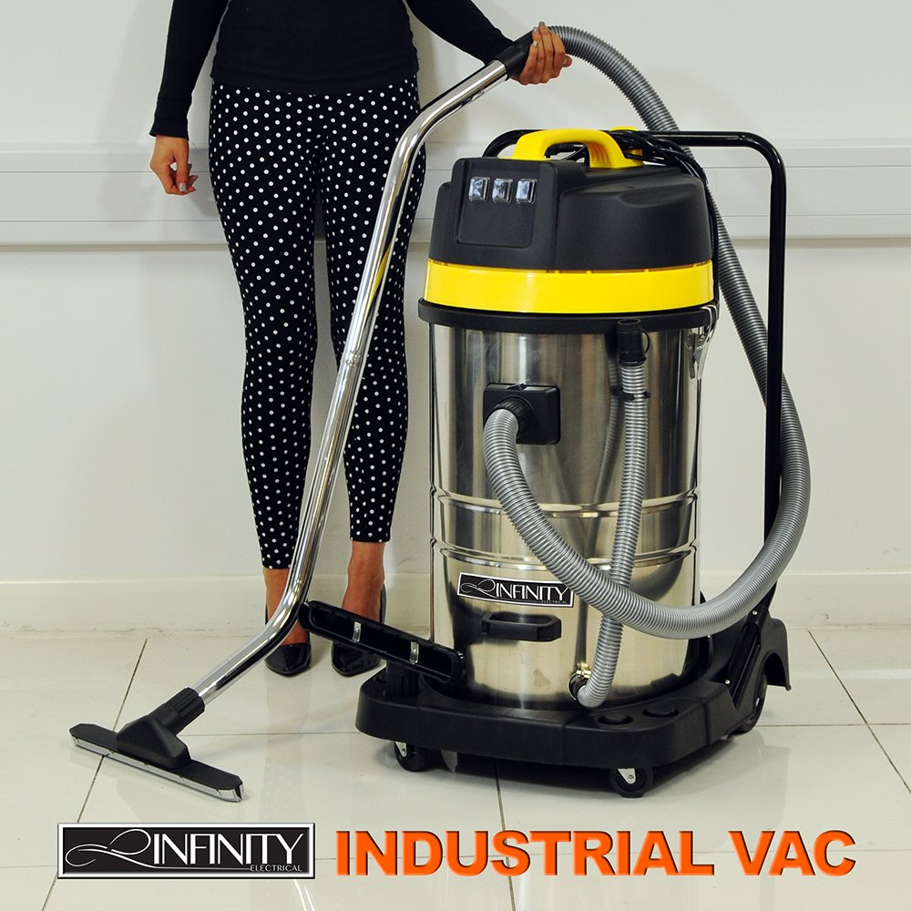 3000W Double Motor Wet Dry 80L Vacuum Cleaner Amazoncouk Kitchen Home