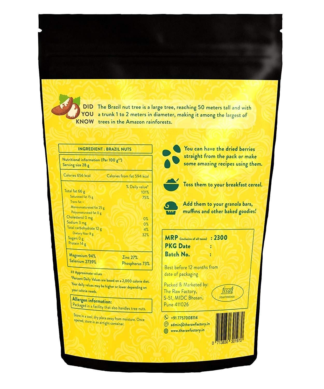 Premium Brazil Nuts, 400gm (14.10 oz) by Raw Essentials (Image #2)