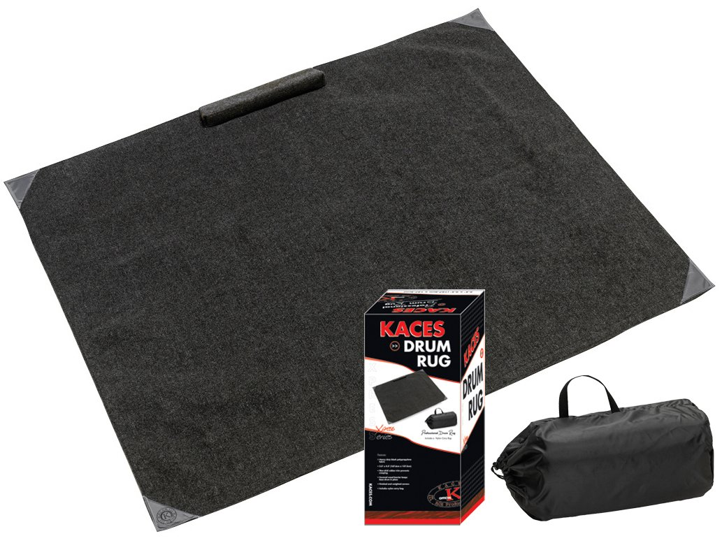 Kaces Crash Pad Drum Rug w/Carry Bag (KCP-5
