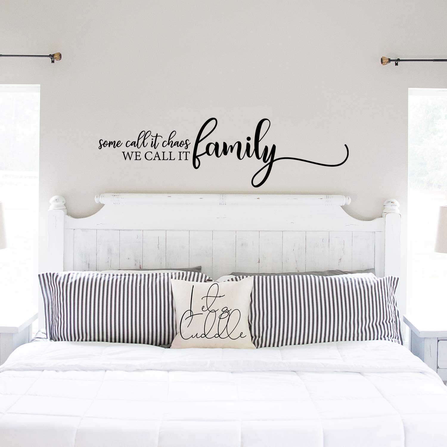 My Vinyl Story - Family Wall Decals for Living Room Decor Family Wall Decor  Wall Stickers Decorations Home Art Bedroom Love Decals Quotes Word (Some ...