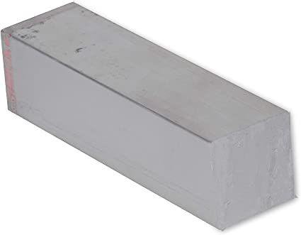 """Stainless Square Bar 3//8/"""" Type 304-12/'/' Length"""