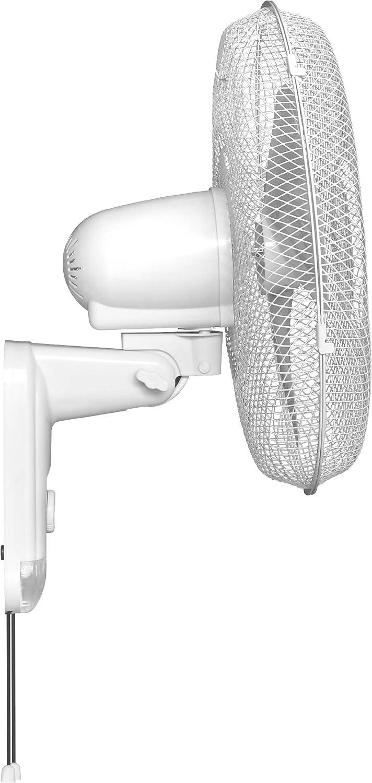 HJM WF40D Ventilador de pared, 60 W, Plástico, 3 Velocidades ...