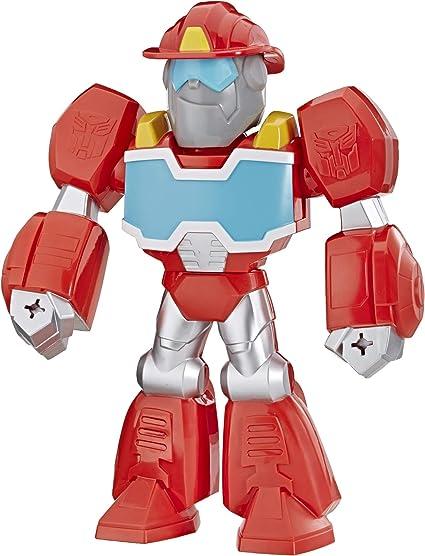 "Playskool Heroes Transformateurs Rescue Bots Academy Mega mighties 10/"" Hot Shot"
