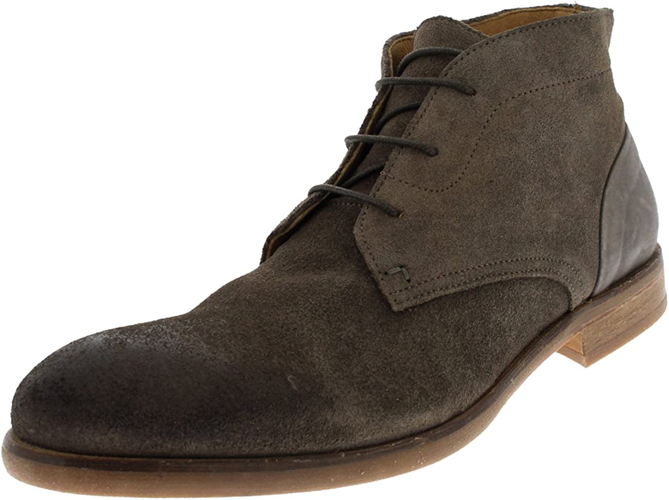 H by Hudson Mens Ryecroft Suede Lace Up