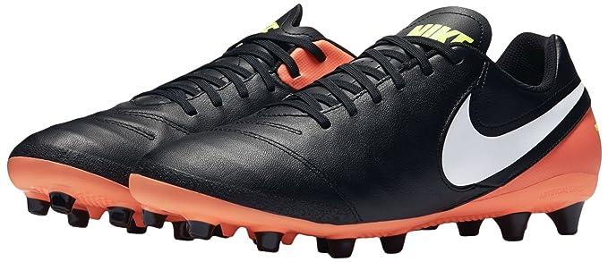 Nike 844399-018, Botas de fútbol para Hombre, Negro (Black/White
