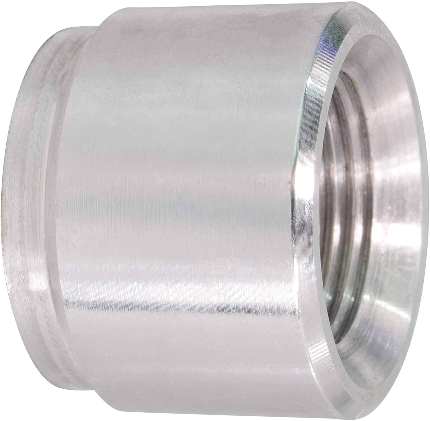 """1//8/"""" NPT Weld Bung Fitting 1//8 NPT Weldable Bung Bare Aluminum Made in USA"""