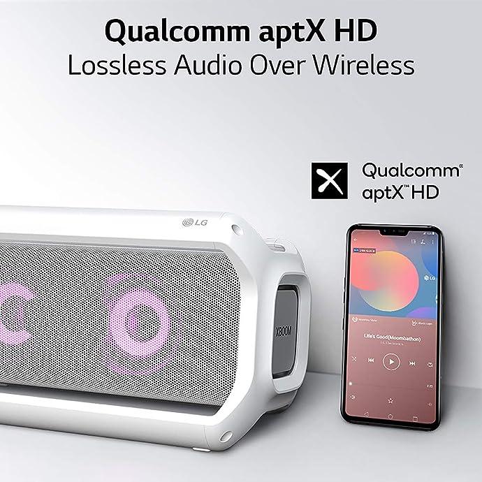 LG PK7W XBOOM Go 防水高保真蓝牙音箱 支持aptX HD 5.5折$126.99史低 海淘转运到手约¥1178