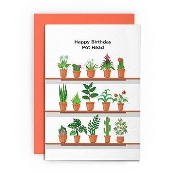 Birthday Card Funny Weed Cannabis Marijuana Drugs Boy Friend