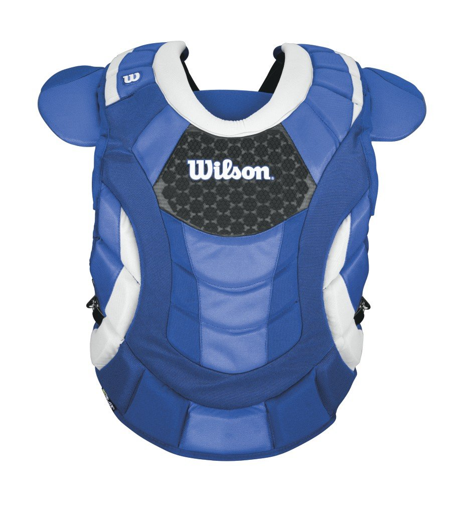 Wilson Promotion Fast Pitch Chest Protector with Isoblox, Royal, Adult