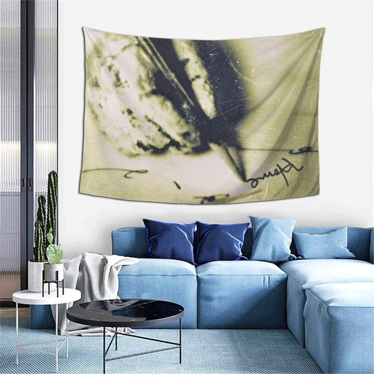 Sevendust Home Tapestry Wall Hanging Bedding Tapestry 3D Printed Living Room Bedroom Decoration Tapestry 60x40 Inches